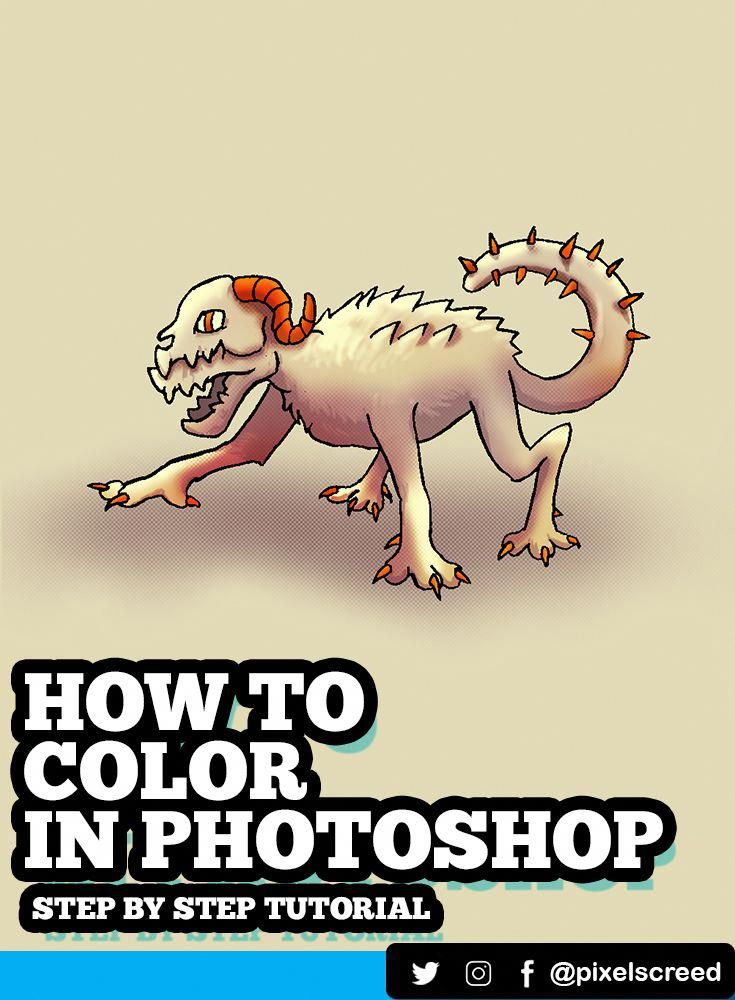 Learn How To Color Your Drawing In Photoshop In This Step By Step Tutorial You Ll A In 2020 Photoshop Tutorial Drawing Photoshop Tutorial Photoshop For Photographers