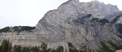 Here's an example of a fold mountain in the Alps in Switzerland (image from wikimedia commons)The Homeschool Den: Earth Science Unit