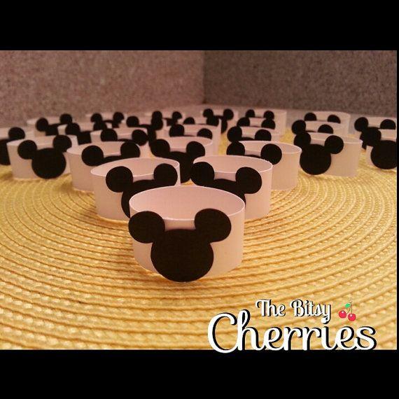 Mickey Mouse ronds de serviette, serviette en Mickey Mouse Mickey Mouse serviette titulaires (ronds de serviette de papier) encapsule
