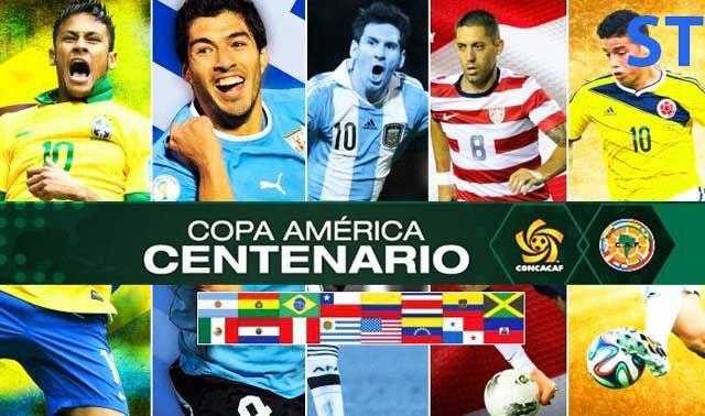 Copa America 2016 Draw
