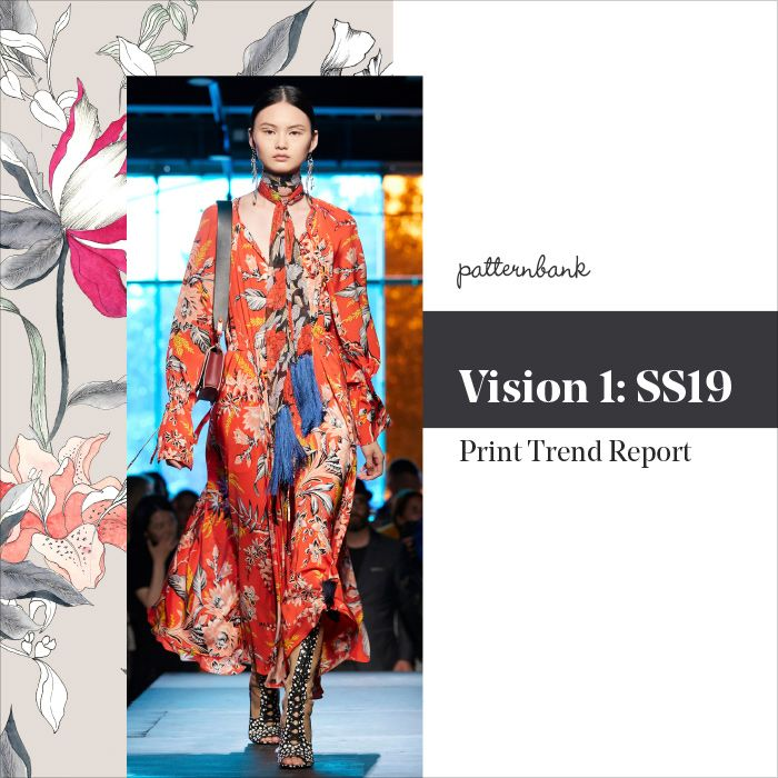 Welcome to Patternbank's first Vision instalment for Spring/Summer 2019.