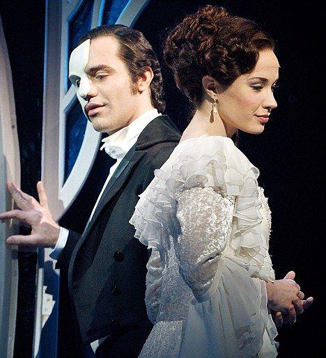 Love Never Dies Original Phantom (Ramin Karimloo) and Christine (Sierra Boggess). Ramin Kaeimloo will be my husband some day! I just know it!