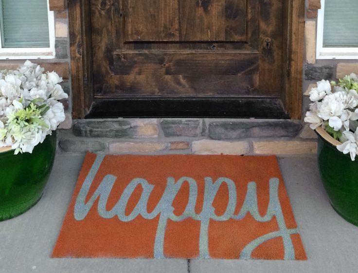 Cute Fall Doormats & Rugs - Craft Remedy | Fall doormat ...