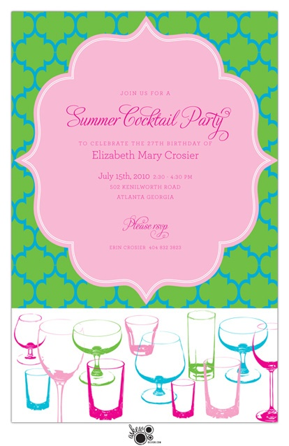 10 best guest bartending images on pinterest birthdays birthday adorable invitations for a summer cocktail party stopboris Choice Image