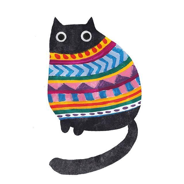 Image may contain: stripes #Regram via @Bq9fk4pHnjL – meow please