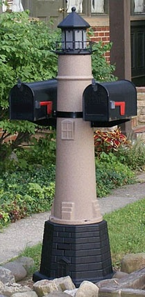 Free Lighthouse Mailbox Plans - WoodWorking Projects & Plans