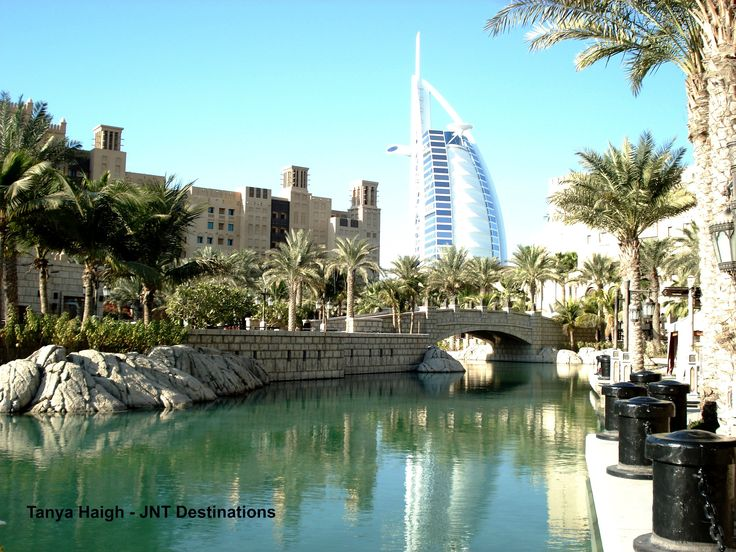 View of #BurjAlArab from #Madinat #Jumeirah #Dubai #UAE #Luxury #Holidays
