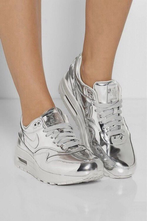 "god5:  Nike WMNS Air Max 1 SP ""Liquid Silver"""