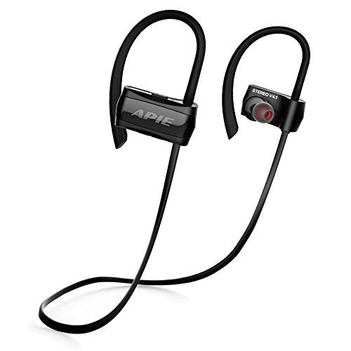 Welcome to my blog the place we will be looking at the new APIE Bluetooth Headphones, Wireless Earbuds Bluetooth 4.1 with microphone Sport Stereo Headset,IPX7 Waterproof earphones ,Premium Sound with Bass, Noise Cancelling, for Gym Running Workout (BLACK).  The APIE Bluetooth Headphones,...