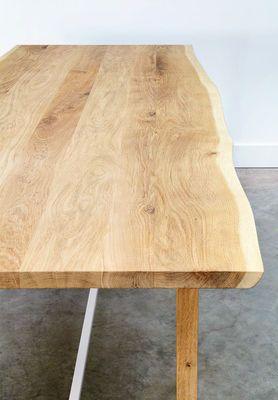 Table Squeeze / 200 x 90 cm Chêne naturel / Blanc - Universo Positivo - Made in design - 1 100 euros