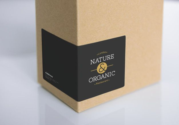 Download Natural Paper Box Packaging Mockup For Free Box