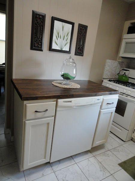 diy dishwasher cabinet