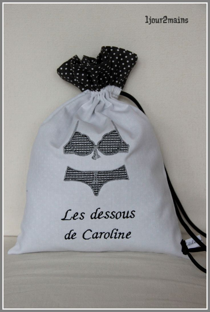 sac dessous caroline les pochons pinterest sac sac voyage et sous vetement. Black Bedroom Furniture Sets. Home Design Ideas