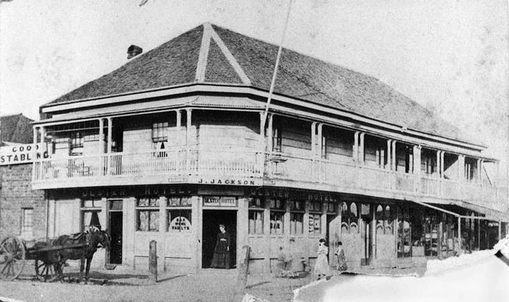 1873 Brisbane Ulster Hotel Edward Street