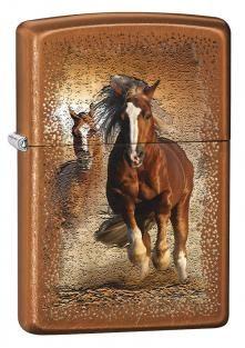 Briquet Zippo Classic Cheval