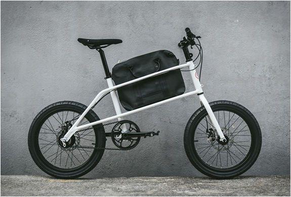 Briefcase Holding Commuter Bikes