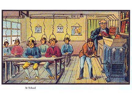 Είναι συναρπαστικό να βλέπει κανείς πώς φαντάζονταν οι άνθρωποι ότι θα μοιάζει ο κόσμος στο #μέλλον.  ------> Στη σειρά φωτογραφιών #Γαλλία_εν_έτει_2000 οι #γκραβούρες είναι από το 1899(!) και αρχικά κυκλοφόρησαν σε κουτιά για τσιγάρα και πούρα ή έγιναν καρτ ποστάλ. __________________________________ #France #pictures #future #carte #postale http://fractalart.gr/france-2000-carte-postale/