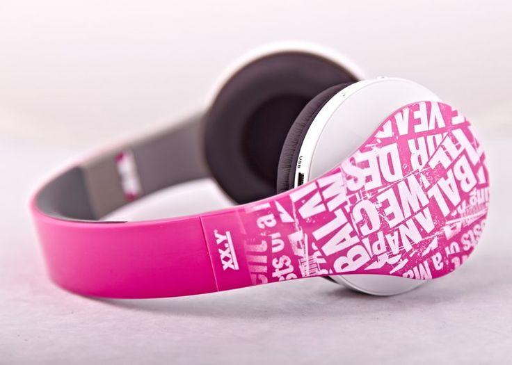 Arkas Słuchawki z odtwarzaczem MP3 XX.Y DYNAMIC 10 (różowe) | MALL.PL
