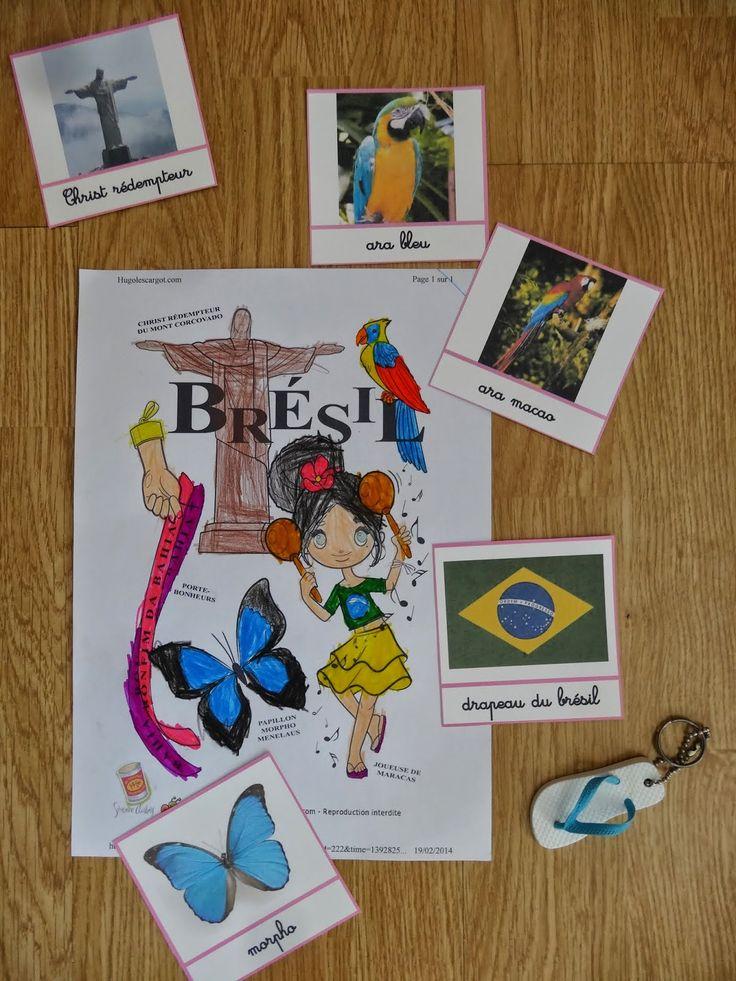 La maternelle de Luciole: Brésil   Pays   Pinterest