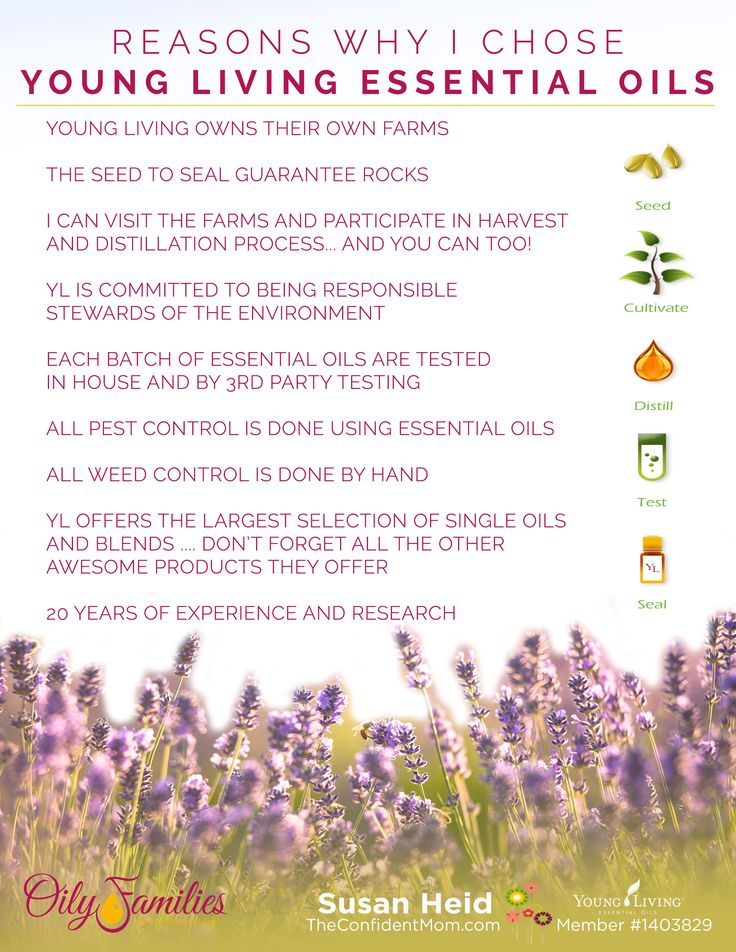 Reasons Why I Chose Young Living Essential Oils Seed To