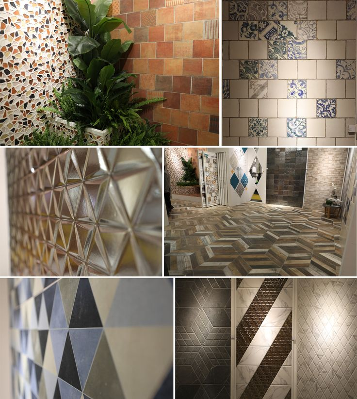 The stand of Realonda fuses the heritage of the past and the cutting-edge materials of the future. Sintra and Lisbon recall the traditional Portuguese azulejo tiles, whilst Gaudi mosaics pay homage to the great Spanish architect. Other new arrivals, alternatively, reflect the contemporary design trends. These collections are highlighted by the tiles of versatile shapes and colors, as well as by the 3D and metal effects.
