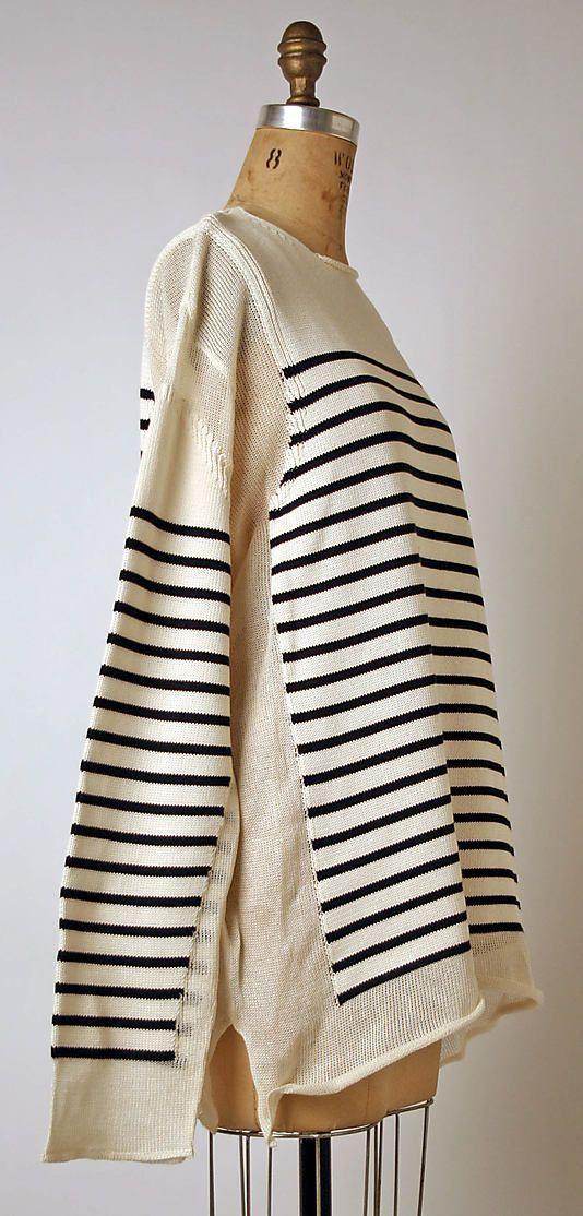 knitGrandeur: #TBT, Jean Paul Gaultier Nautical Stripes