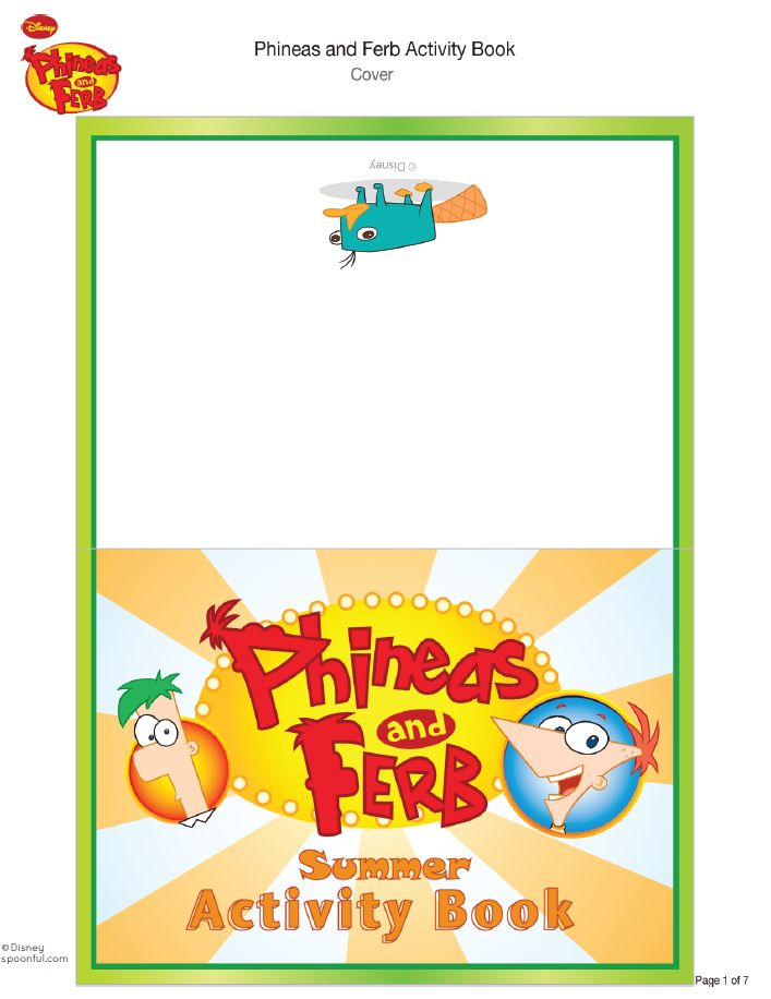 7 pages--- http://family.disney.com/activity/phineas-and-ferb-activity-book