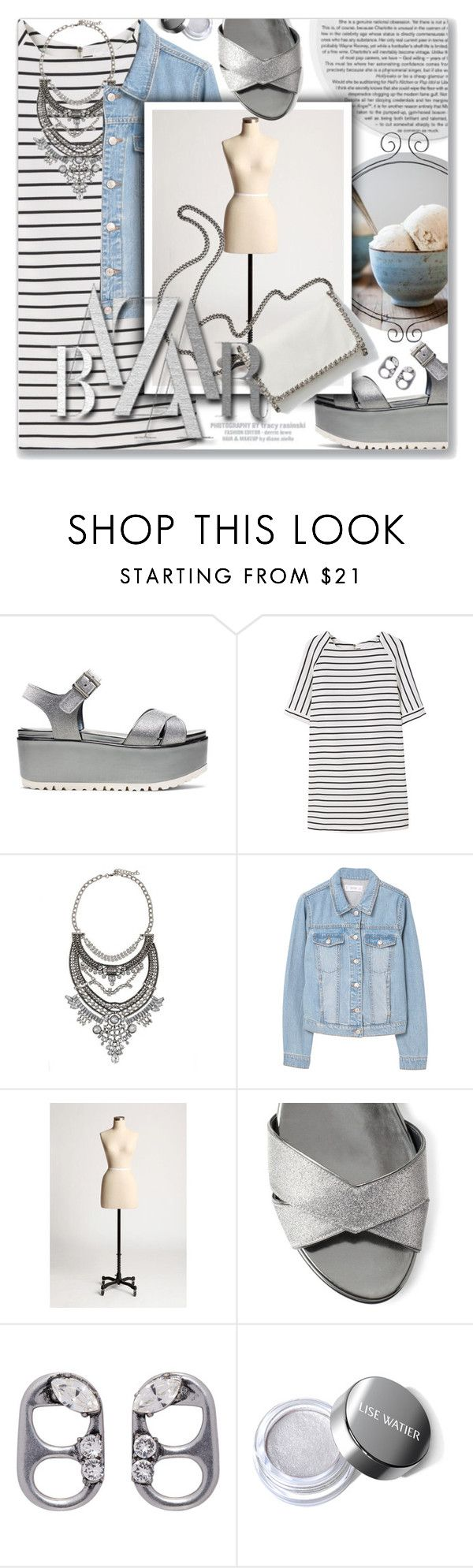 """""""Subirusdoistiozin, Criolo"""" by blendasantos ❤ liked on Polyvore featuring Stuart Weitzman, MANGO, Urban Outfitters, STELLA McCARTNEY and Marc Jacobs"""