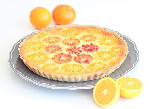 Pomerančový koláč - cibetka