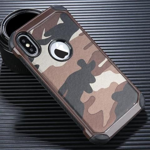 cc1a8a0c34 USLION Cool Camouflage Phone Case For iPhone 6 6s 7 Plus Army Camo Phone Cases  Shockproof
