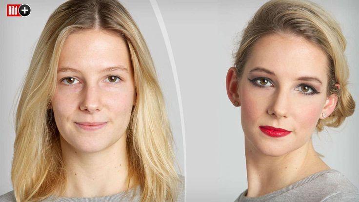 NATÜRLICH ODER STARK GESCHMINKT Wie viel Make-up mögen Männer bei Frauen?