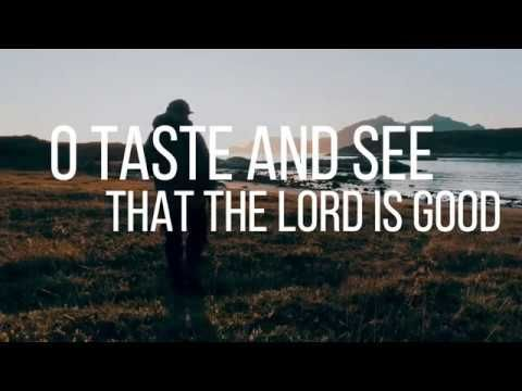 Psalm 34 - Taste and See - by Shane & Shane (Lyric Video