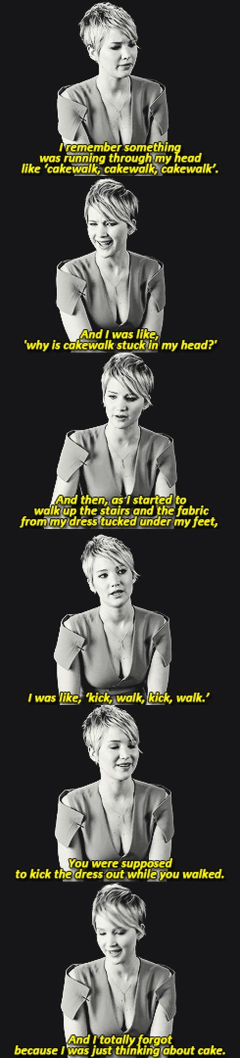 Jennifer Lawrence talks about her fall at the Oscars. We'd totally be friends!   Read More Funny:    http://wdb.es/?utm_campaign=wdb.esutm_medium=pinterestutm_source=pinterst-descriptionutm_content=utm_term=