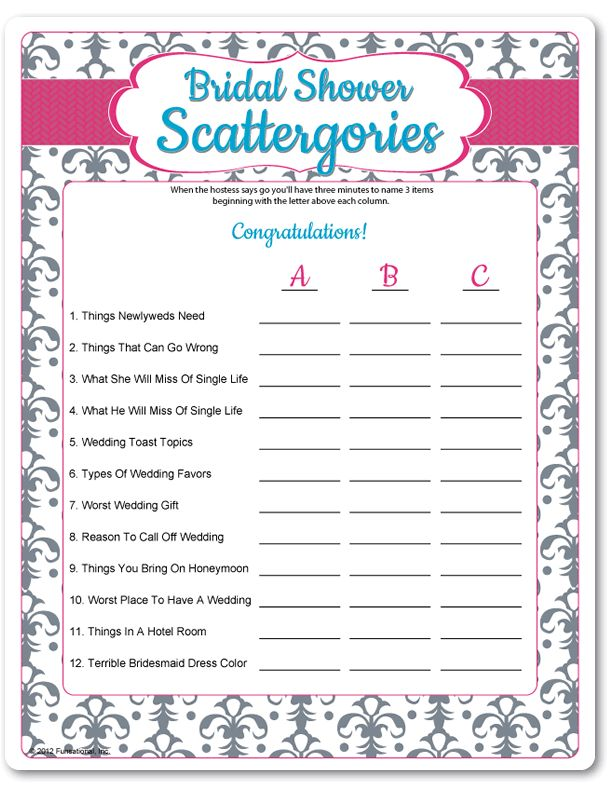 fbd0734e706be7ff8139c42462e67a35 Top Result 60 Best Of Templates for Bridal Shower Games Pic 2017 Phe2