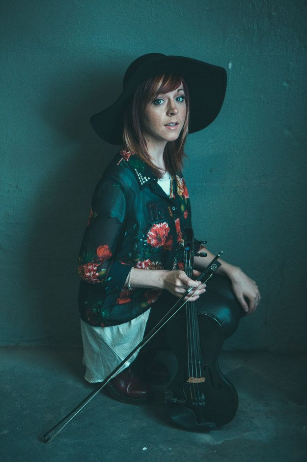 """Lindsey Stirling, the dubstep violinist who went from YouTube stardom to a No. 2 album on the Billboard 200 this year, has a reputation for taking violin to extreme places. 