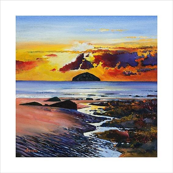 Art Prints Gallery - Ailsa Craig (Limited Edition), £135.00 (http://www.artprintsgallery.co.uk/Davy-Brown/Ailsa-Craig-Limited-Edition.html)