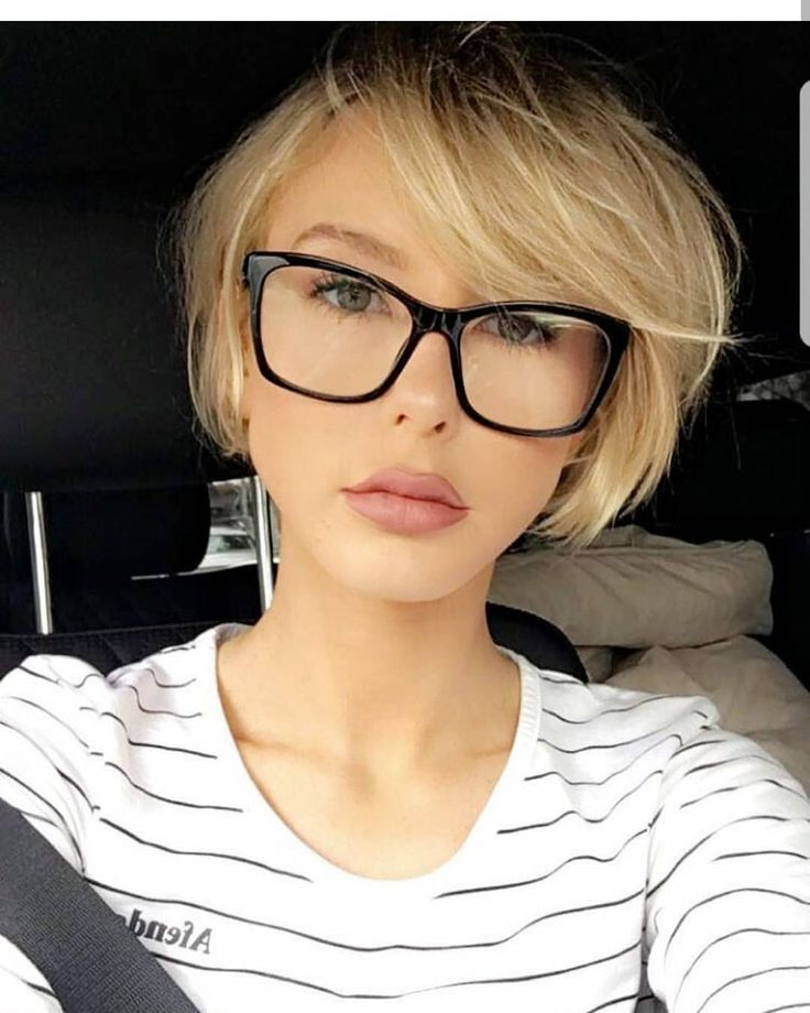 """6,070 Likes, 28 Comments - Short Hair  Pixie Cut Boston (@nothingbutpixies) on Instagram: """"Time for more pixie with glasses @adrianna.christina"""""""