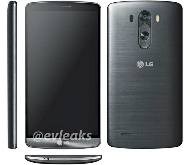 LG G3 Spotted In Multi-Angle Image Leak