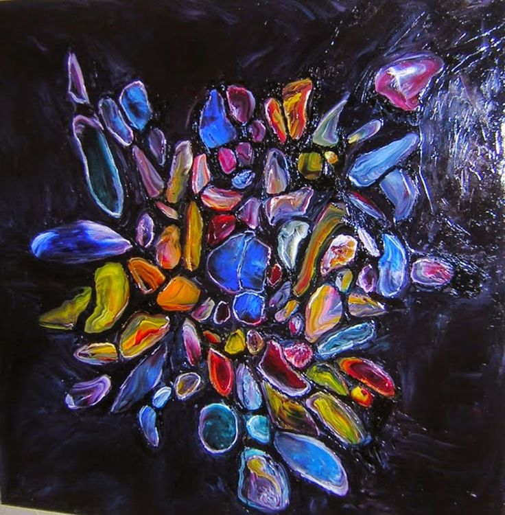 JEWELS+OF+THE+NILE+Original+Oil+Painting+30-X30-+by+John+R+Jurisich.jpg (745×760)