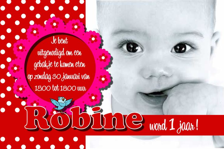 Birthday invitation by www.addsomecolor.info