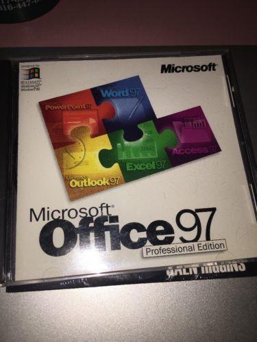 Microsoft Office 97 Professional Edition