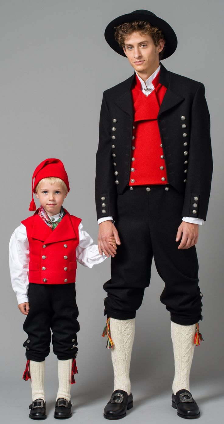 National Costumes (bunad) from Vestfold County