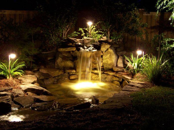 pond lighting ideas. Pond Lighting Ideas