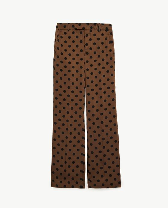 Image 6 of POLKA DOT TROUSERS from Zara