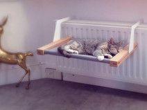 Gato: Para dormir - Woozy | the hammock for cats and small dogs. - hecho a mano por Wohood en DaWanda