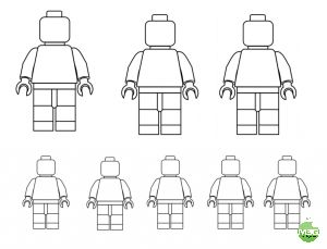 Draw your family using Lego characters