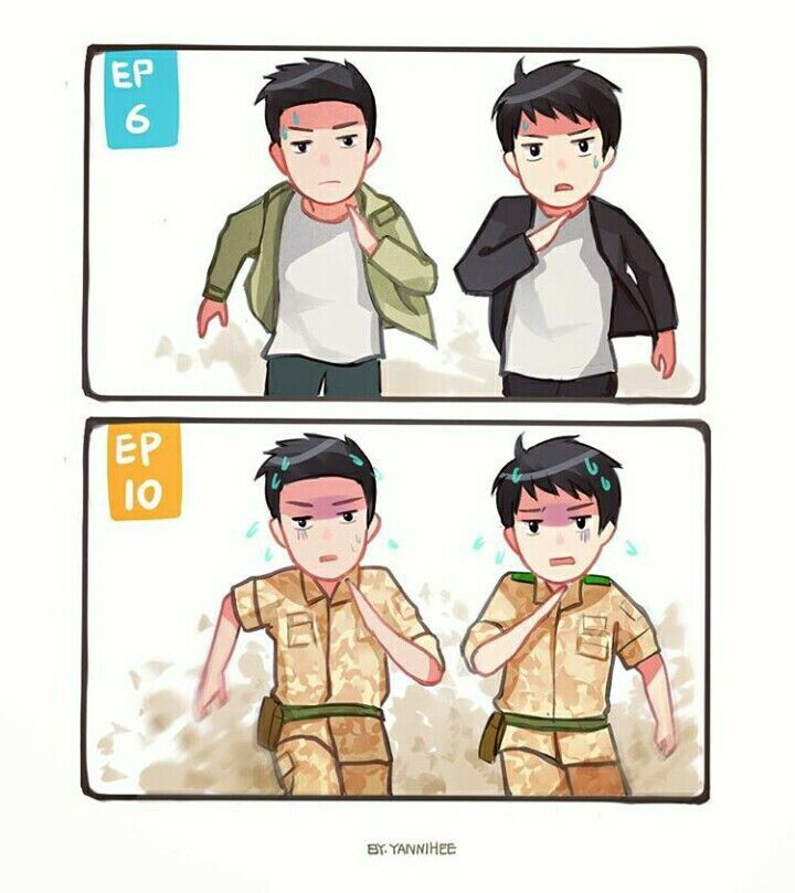 descendants of the sun fanart