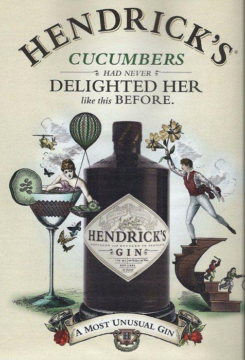 Hendricks gin & tonic=delicious