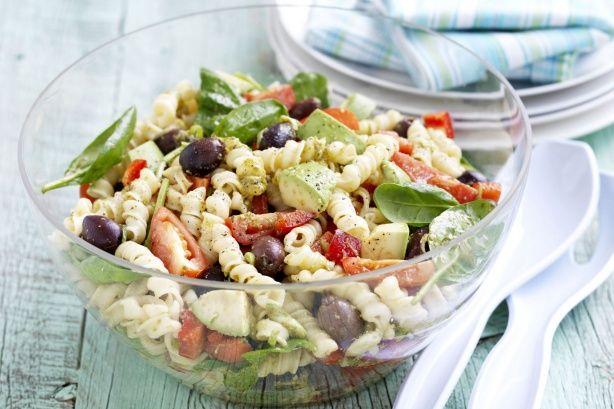 Pesto Pasta Salad Recipe - Taste.com.au