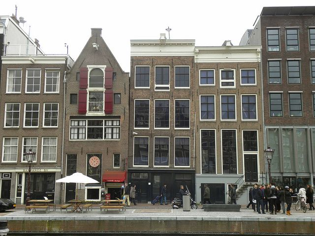 Anne Frank House in Amsterdam- necessary if I go with Kevin...if not, still a moving place he should go!!